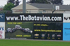 The Batavian Sign at Dwyer Stadium
