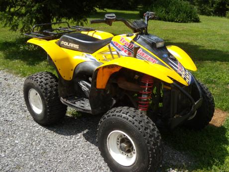 Polaris 4 Wheeler The Batavian
