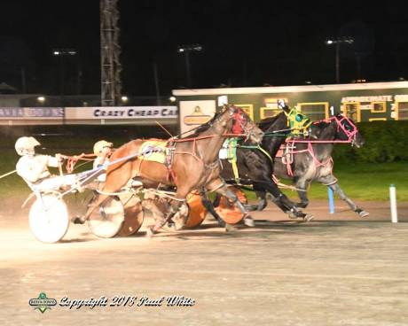 lucky_outside_runaway_middle harness racing the batavian