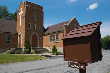 Blessing Box Provides Community With Food Maybe