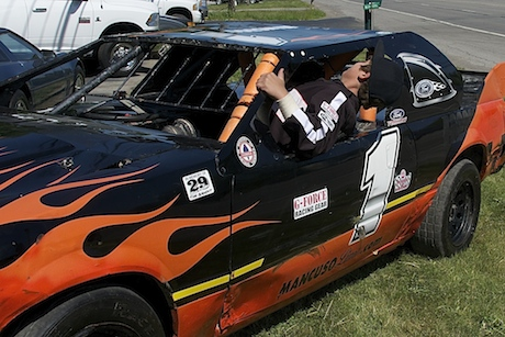 Local 12 Year Old Races Stock Cars Dreams Of Being In The