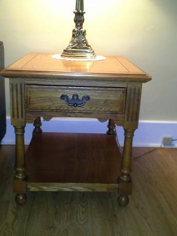 Broyhill Coffee Table And Matching End Tables The Batavian