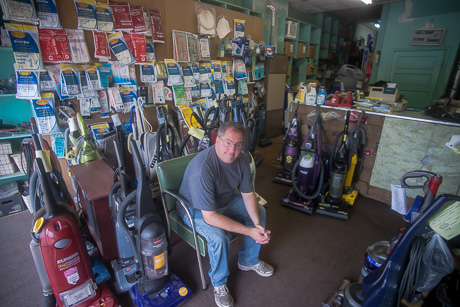 The Vac Shop Owner Passionate About Vacuum Cleaners