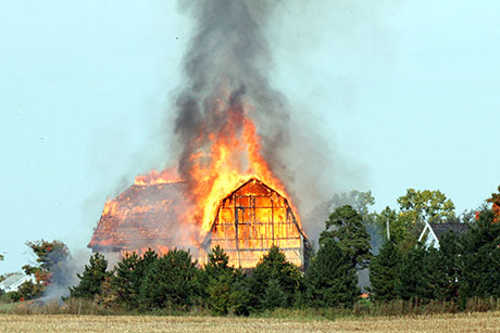 Barn Fire Reported In Bethany The Batavian