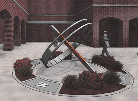 centennial committee plans sundial as legacy gift to city the batavian