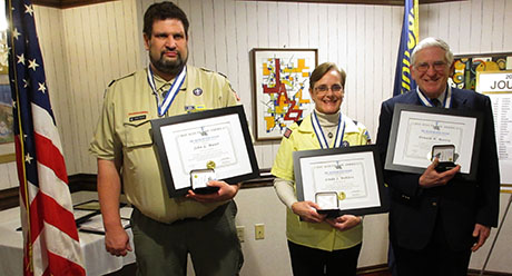 Iroquois Trail Council Of Boy Scouts Honors Volunteers