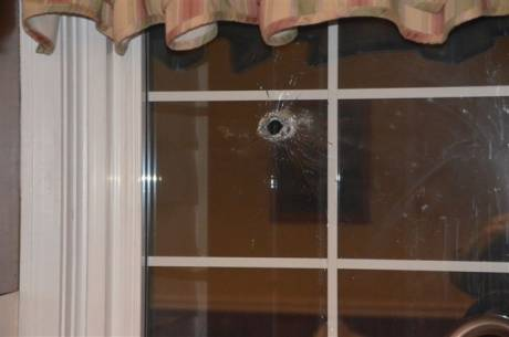 City Resident Blames New Long Rifle Law For Bullet Hole In