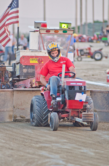 Souped Up Tractor : Photos tractor pull at the genesee county fair batavian