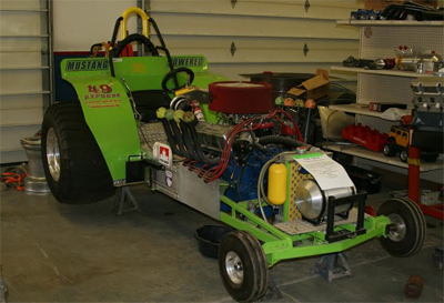 Modified V8 Unlimited Garden Pulling Tractor The Batavian