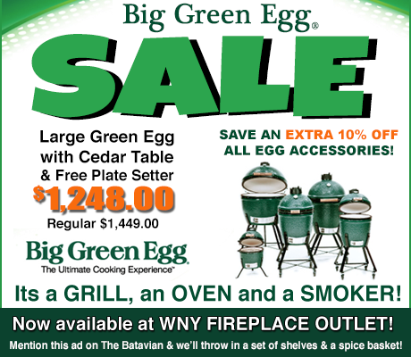 Sponsored Post: Big Green Egg Sale going on now at WNY Fireplace ...