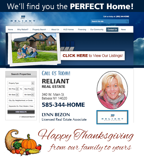 Sponsored post happy thanksgiving from reliant real for Find the perfect home