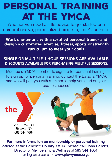 sponsored post personal training now available at the ymca the