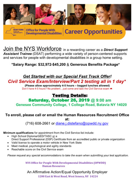 Sponsored Post: Join NYS Workforce - Direct Support
